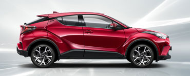 DER TOYOTA C-HR 1.2 L TURBO FLOW